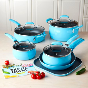Tasty 11pc Non-Stick Cookware Set