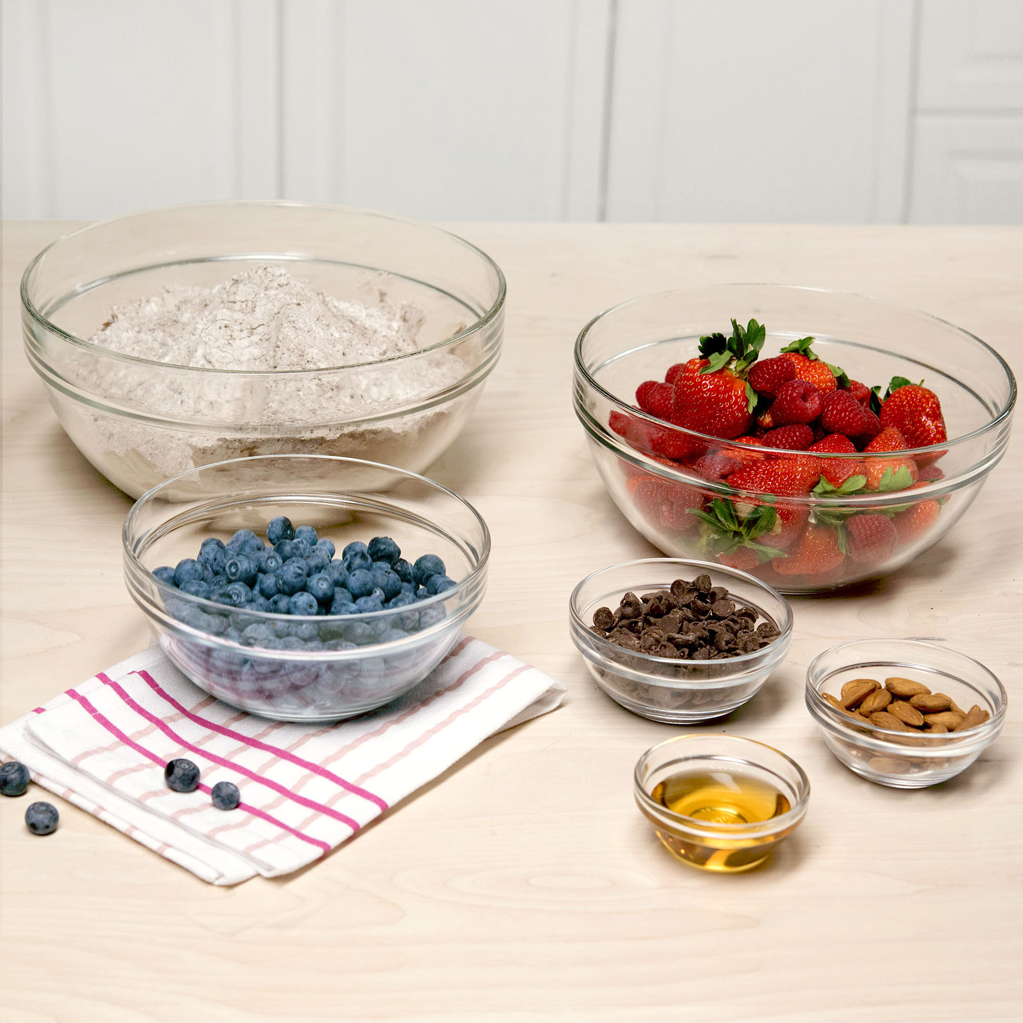 Tasty 6pc Mixing and Prep Bowl Set